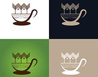 Coffee logo design tea logo café logo