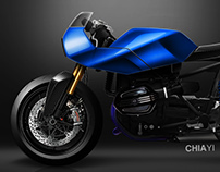 BMW R nine T Custom - Cafe' Racer
