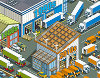 Property Week: Sheds Supplement Illustration