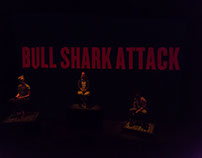 """Bull Shark Attack"" Projection Design"