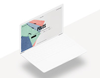 "Aleatory | Landing page ""Polos"""