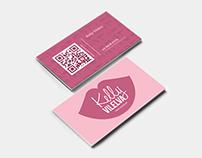 Kelly Vilelva | Logo Design | cartão de visitas