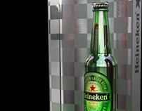 """Heineken - """"Re"""" Bar beer display"""