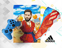 Adidas Messi x Dragon Ball Z