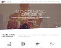 Electrical Power Management company website project