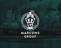 Marcons - Website for a Shipping Agency