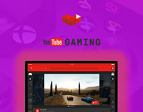 YouTube Gaming Design