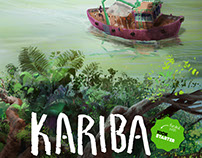 KARIBA KICKSTARTER-graphic novel