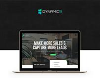 Dynamic9 Website UI & UX Design