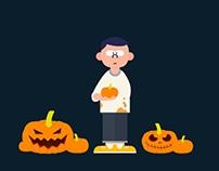 Halloween at Maggle