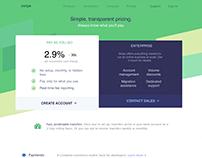Replicating Stripe Website