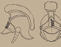 Prop 3D Model Dragoon Helmet