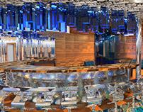 Night Club interior design for Royal Caribbean Cruise
