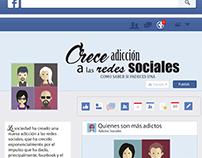 INFOGRAFIA // Adicciones a las Redes Sociales