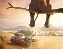 Jeep Renegade - Everything in him is scary.(print)