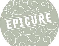 Epicure Cafe Rebranding