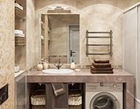 Ванная, квартира в Воронеже