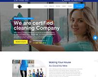 Optic Cleaning Website Design