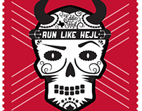 ADA 5K Team Run Like Hejl: Poster and T-Shirt Design