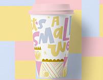 Disney Cups - Small World