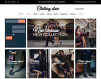 Clothing Store - Joomla Virtuemart template