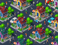 Isometric Panorama