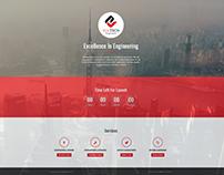Engineering Website UI