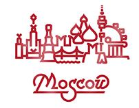 Moscow City Logo