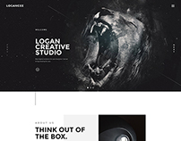 Logancee | Creative Studio Homepages