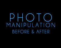 Photo Manipulation - Before and After