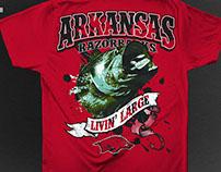 Bass Fishing T-Shirts, Screen-printing