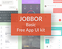 JOBBOR basic-FREE App UI kIt