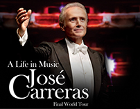 "José Carreras ""A life in Music"""