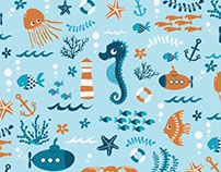 Sealife Pattern Design