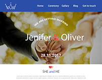 wedding home page