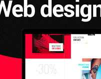 Web design | sneakers shop