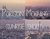 Parisian Morning - Sunrise shoot - PHOTOGRAPH