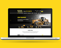 Heavy Equipment and Machinery Magento 2 Website