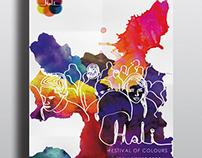 Visual Identity for Holi Festival