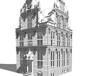 Work in progress''Goudkantoor Groningen''