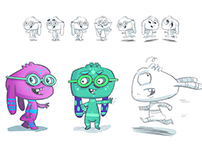 Projekty postaci / character designs different clients