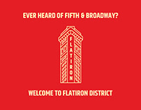 Flatiron District Branding