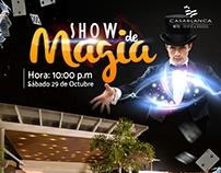 Show de Magia / Hotel CasaBlanca