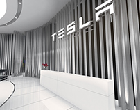 Tesla Global Motor Show Conceptual Design