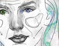 Libro Cirugía Estética; ilustración portada