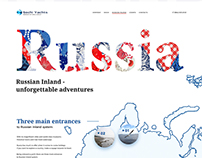 Website for yachts crew from Sochi