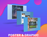 Poster And Graphic Illustrations