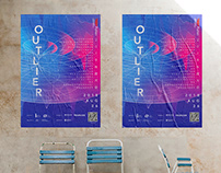 TEDxfutian2018#Outlier_poster&Visual design