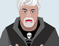 Captain Paul Watson portrait