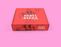 Rebel Pizza Packaging